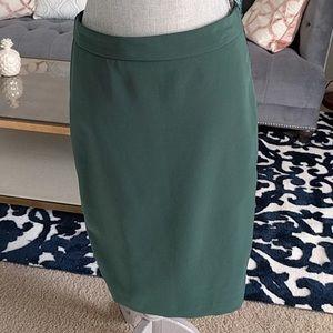 Zara green pencil skirt